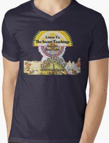 The Secret Teachings - Alchemical Logo (Shirts & Sweaters) Mens V-Neck T-Shirt