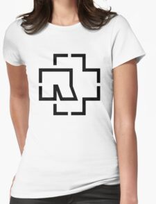 Rammstein Womens Fitted T-Shirt