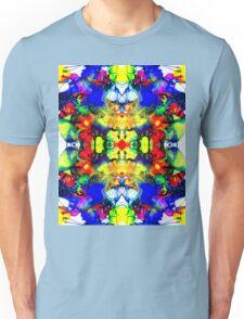 Pattern Crazy - Ink Patterns on Yupo Nr 001 Digitally Multiplied Unisex T-Shirt