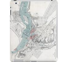 Vintage Map of Richmond Virginia (1864) iPad Case/Skin