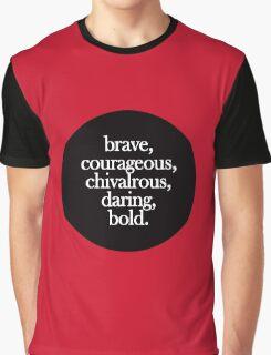 Gryffindor - Minimalist Dot Graphic T-Shirt
