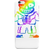 under tale color iPhone Case/Skin