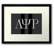 Lambda Psi Rho Greek Fraternity Life Framed Print