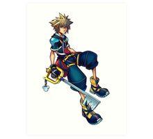 Kingdom Hearts - Sora Art Print