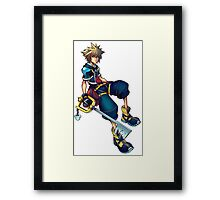 Kingdom Hearts - Sora Framed Print