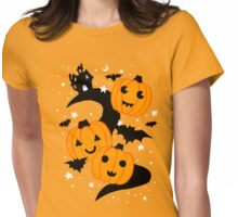 Haunted Lane Womens Fitted T-Shirt