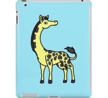 Yellow Giraffe with Black Spots iPad Case/Skin