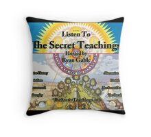The Secret Teachings - Alchemical Logo (Cups) Throw Pillow
