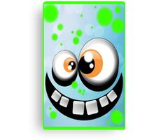 silly monster #1 Canvas Print