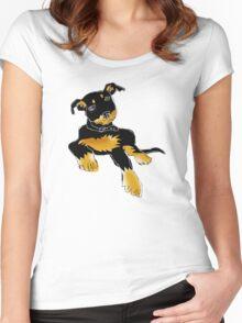 Jet the kelpie Women's Fitted Scoop T-Shirt