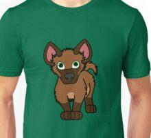 Brown Hyena Pup Unisex T-Shirt