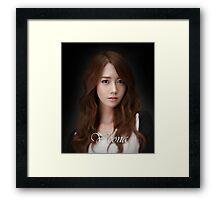 Yoona SNSD Framed Print