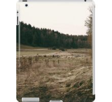 Rural forest landscape photography iPad Case/Skin