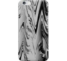 Abstract black & white 355H iPhone Case/Skin