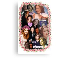 X-files Dana Scully - Collage Part 2 Metal Print