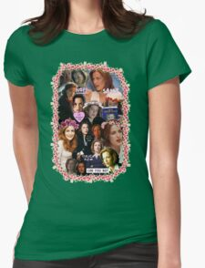 X-files Dana Scully - Collage Part 2 Womens Fitted T-Shirt