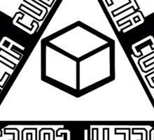 DELTA CUBES Sticker