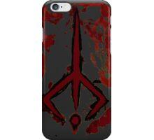 Bloodborne hunters sign  iPhone Case/Skin