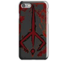 Bloodborne hunters sign  iPhone Case/Skin