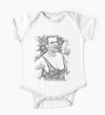Arnold Schwarzenegger - Pencil Art One Piece - Short Sleeve