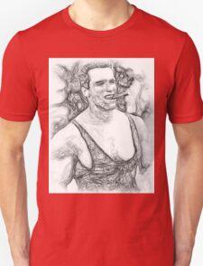 Arnold Schwarzenegger - Pencil Art Unisex T-Shirt