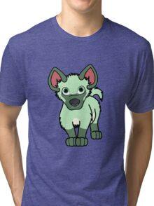 Light Green Hyena Cub Tri-blend T-Shirt