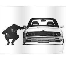 BMW E30 M3 - Gentleman Poster
