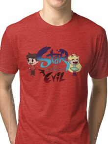 Star vs the forces of Evil w/ Star & Marco Tri-blend T-Shirt