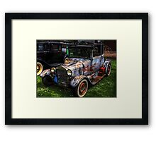 The Unruly Hot Rod! Framed Print