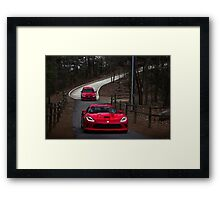Viper Vs Evo 8 Framed Print