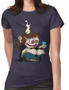 Hermione reads a Book Womens Fitted T-Shirt