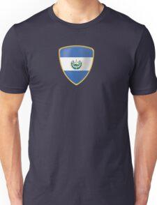 El Salvador Flag and Coat of arms Unisex T-Shirt