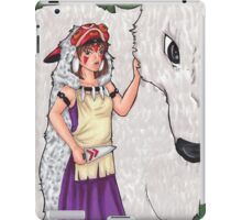 The Princess and the Wolf iPad Case/Skin