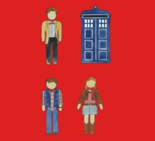 Doctor Who 11 Characters - Set #4 One Piece - Long Sleeve