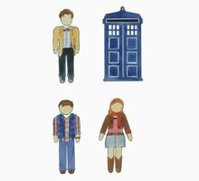 Doctor Who 11 Characters - Set #4 Baby Tee