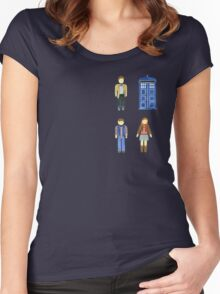 Doctor Who 11 Characters - Set #4 Women's Fitted Scoop T-Shirt