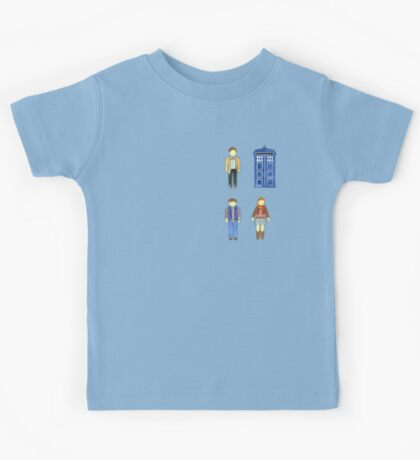 Doctor Who 11 Characters - Set #4 Kids Tee
