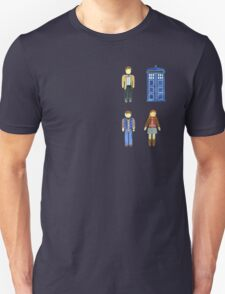 Doctor Who 11 Characters - Set #4 Unisex T-Shirt