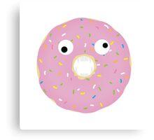 Donut Eat Me Canvas Print