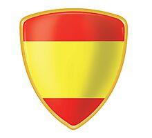 Bandera de España Photographic Print