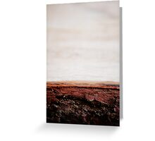 Bark beach Greeting Card