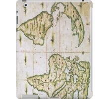Vintage Map of The World (1566) iPad Case/Skin
