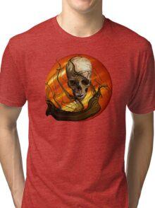 The Sunset Of Piracy Tri-blend T-Shirt