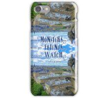 Monsters Were His Friends Notre-Dame Paris Gargoyle iPhone Case/Skin