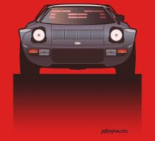 Modern Euro Icons Car Series Lancia Stratos HF Tipo 829 One Piece - Short Sleeve