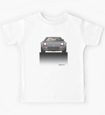 Modern Euro Icons Car Series Lancia Stratos HF Tipo 829 Kids Tee