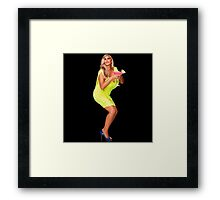 Party first, worry later Framed Print