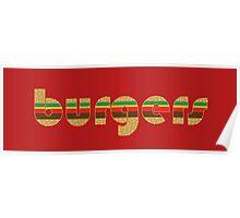 Burgers Supreme Poster