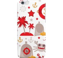 Red lighthouse iPhone Case/Skin