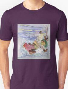 Jesus Calms the Storm Unisex T-Shirt